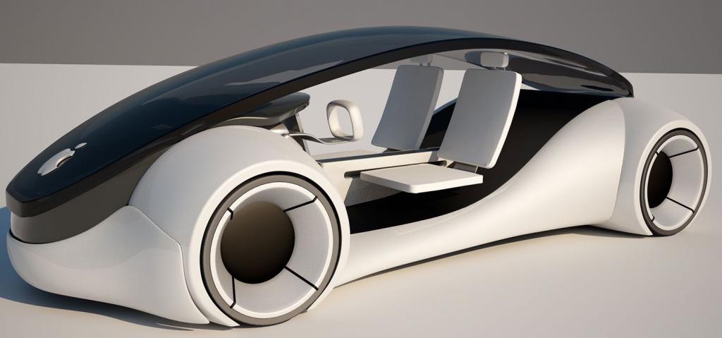Prototipo del auto en el que está trabajando Apple
