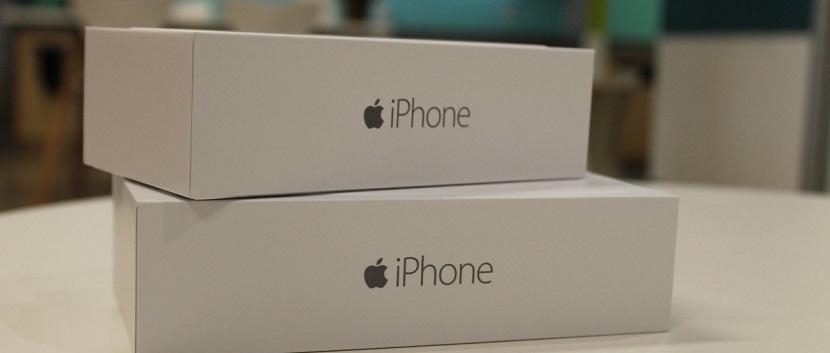iphone cajas