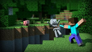 Minecraft_Steve_swordfight