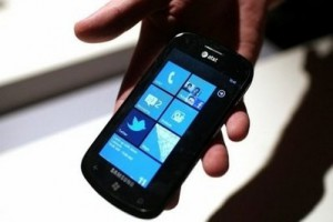 WP7 phone Getty