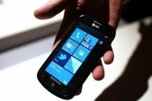 WP7 phone Getty