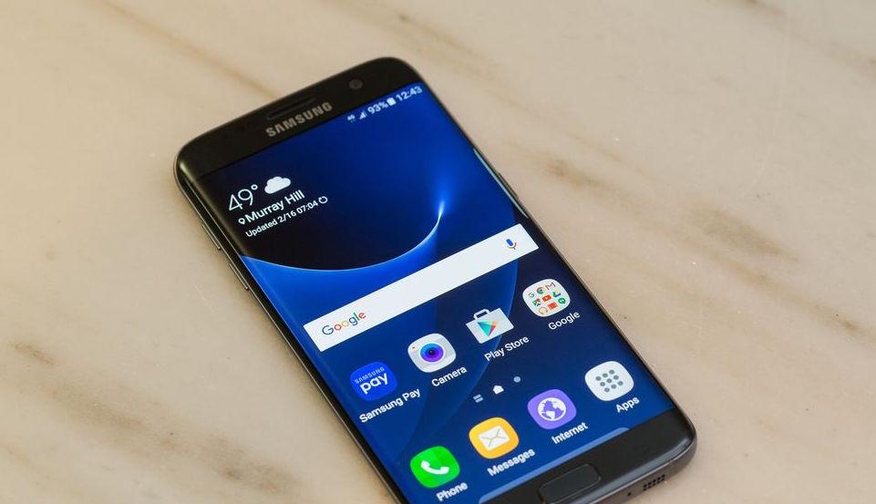 GalaxyS7 Android Nougat