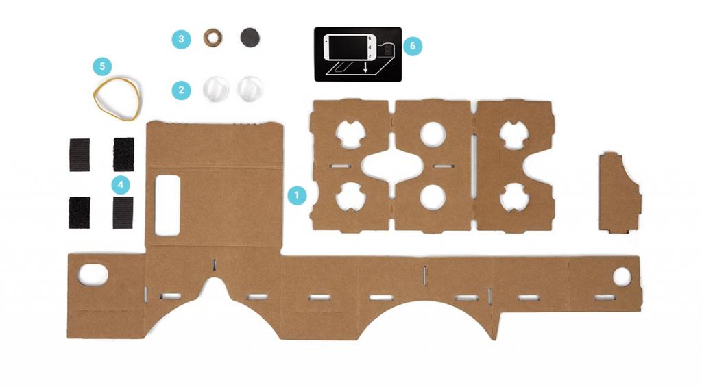 Las instrucciones paso a paso te permitirán construir tu propio visor en casa.