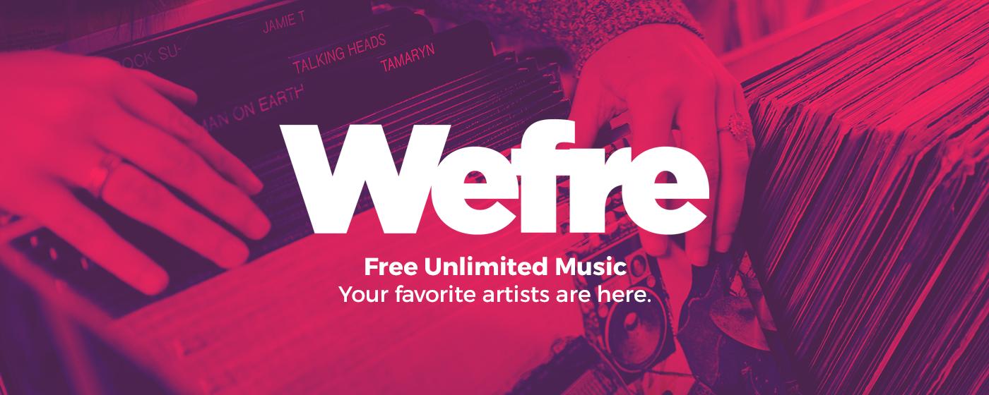 Wefre música gratis