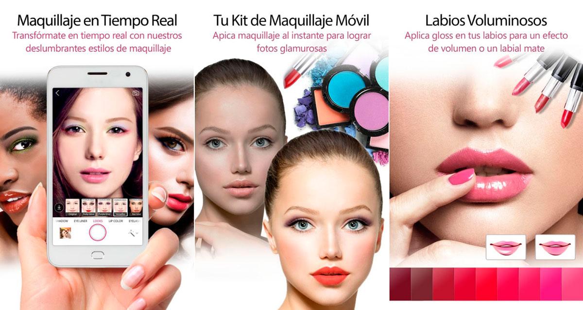 Maquillaje tiempo real