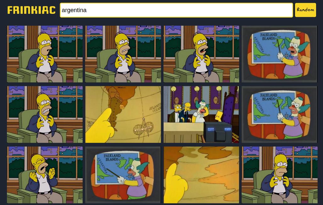 Buscador escenas los simpsons