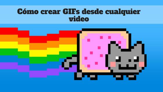 como crear gif