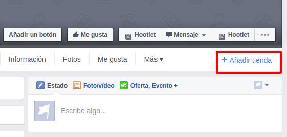 crear tienda facebook