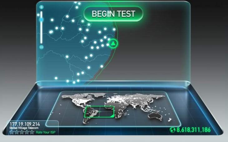 medir velocidad de conexion a internet