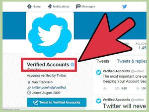 Las cuentas verificadas aparecieron en 2014 y fueron exclusivamente para figuras públicas.