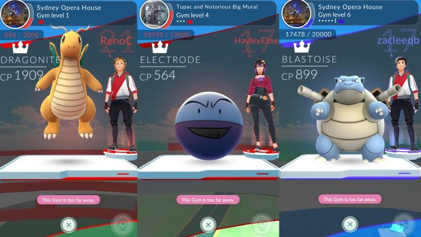 gym battles
