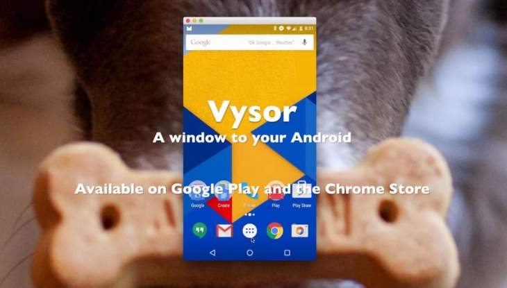 vysor android pc
