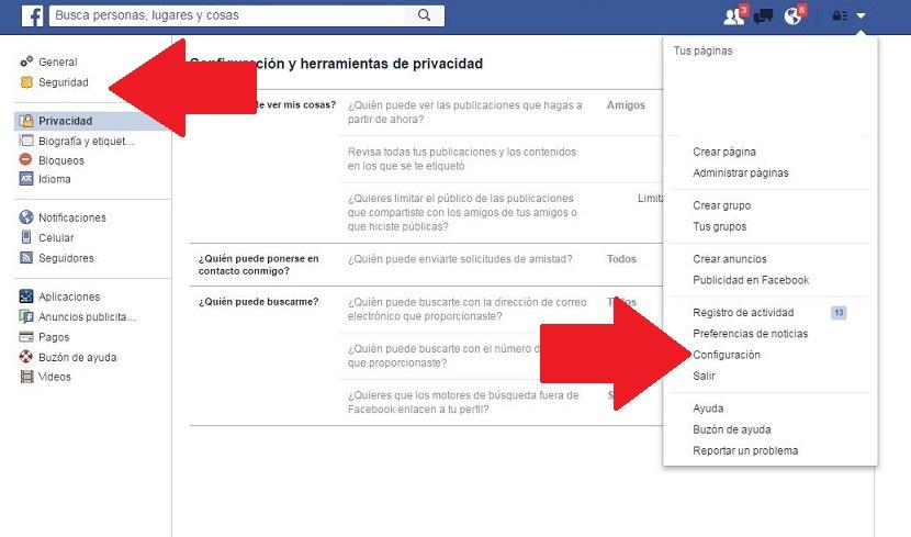 Facebook paso 1
