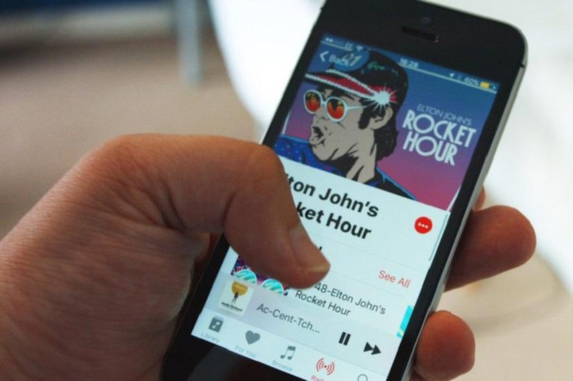 apple-music en iOS