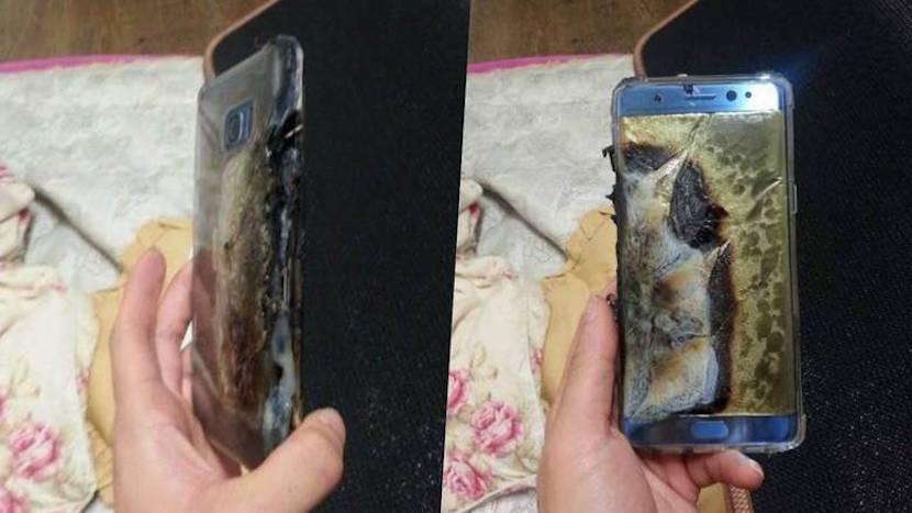 baterías Samsung Note 7