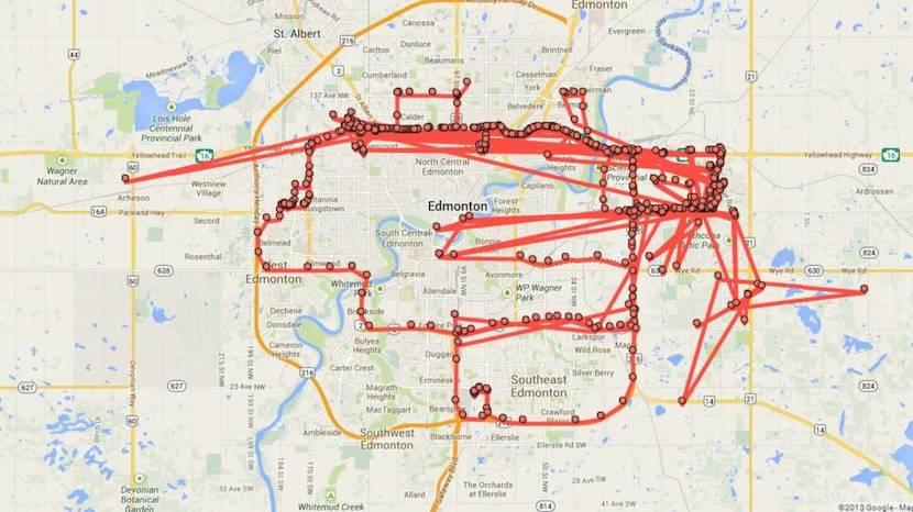Google Maps repasar tus movimientos