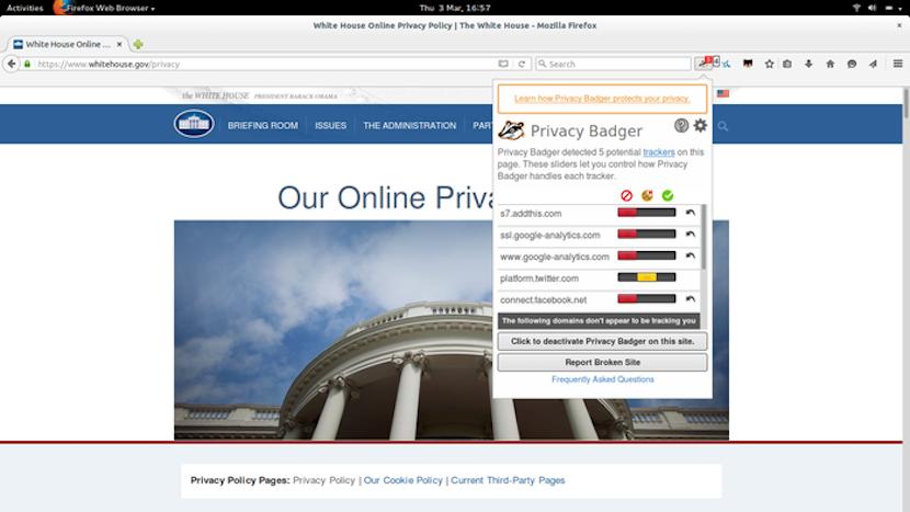 extensiones para navegadores web