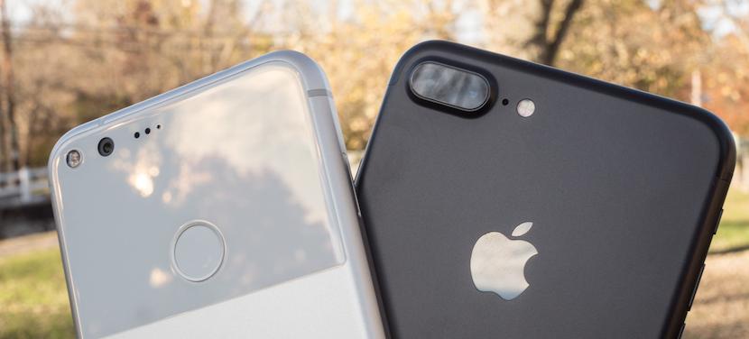 iPhone 7 Plus vs Google Pixel XL