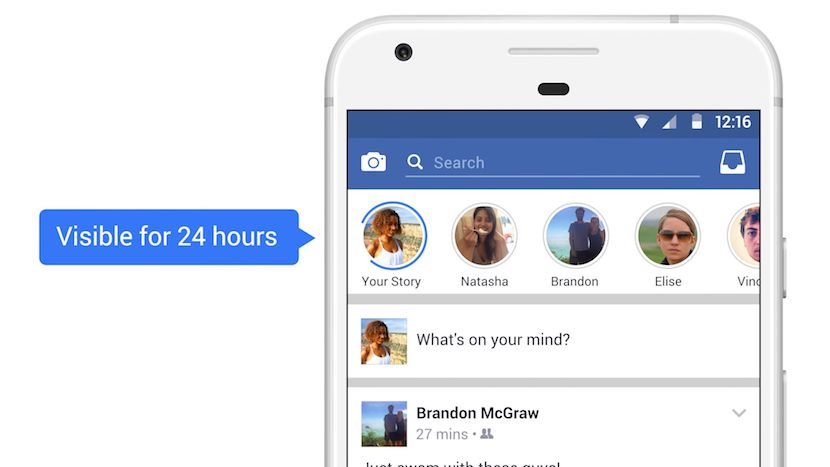 Facebook Stories llegan a Irlanda
