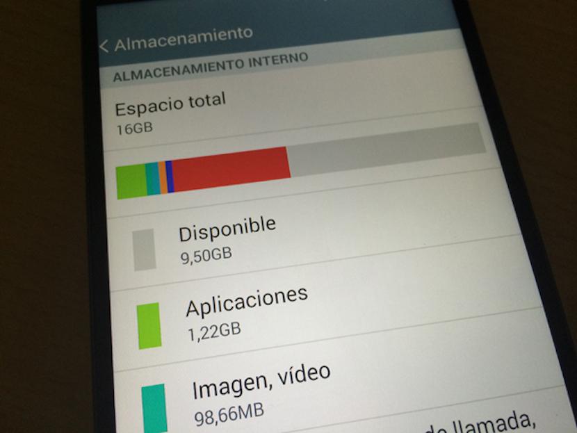 liberar espacio almacenamiento en Android