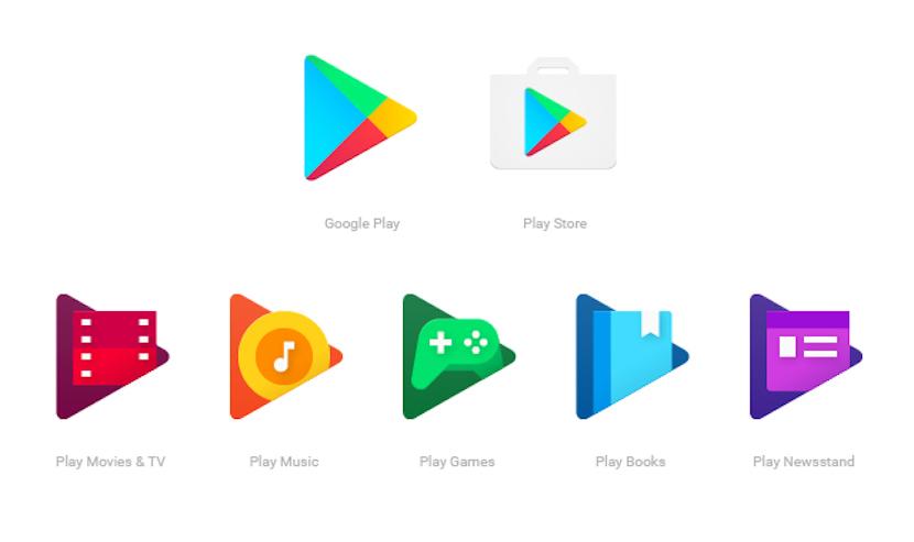 nuevos iconos en Android y Google Play Store