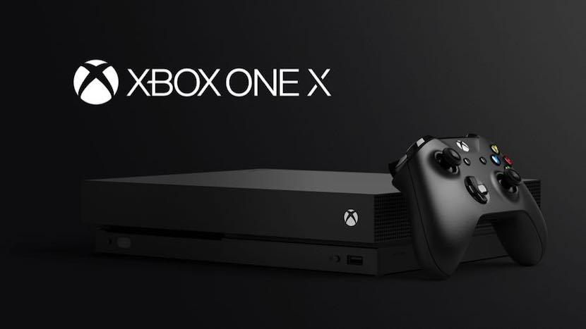 Xbox One X de Microsoft
