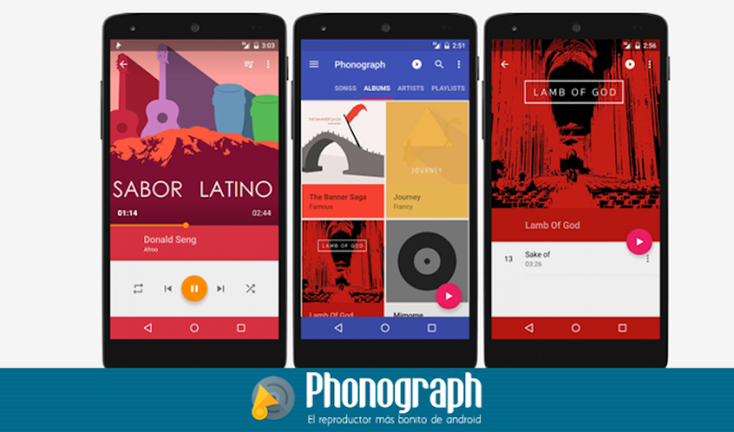 reproductores para Android