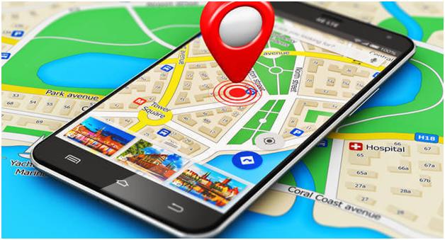 google maps-smartphone