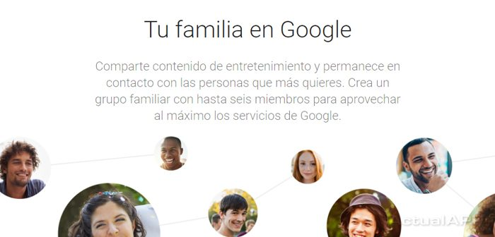 Grupo familiar en Google Calendar