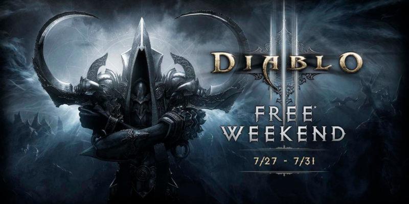 Diablo III gratis en Gold Xbox Live