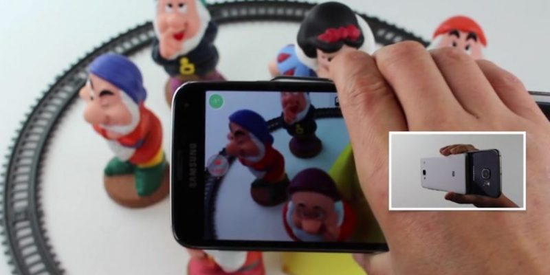 grabar en 3D con Camarada