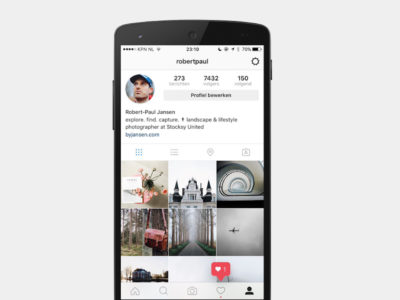 Instagram diseño