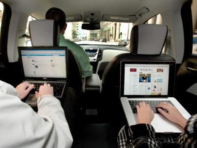 Señal Wi-Fi en autos