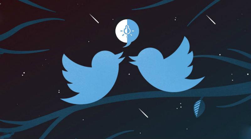 twitter modo nocturno