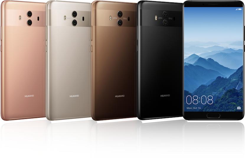 Huawei Mate 10 y 10 Plus
