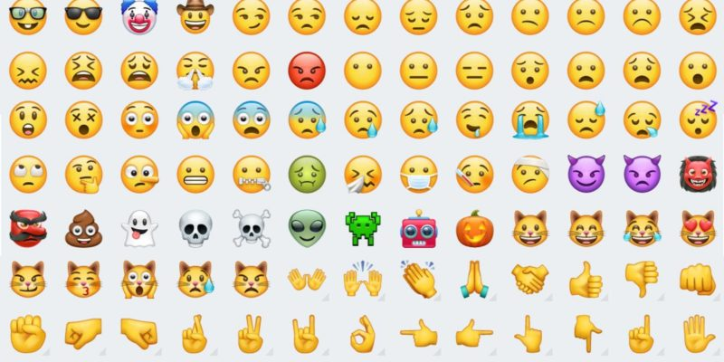 whatsapp redise241a los viejos y nos presenta sus nuevos emojis