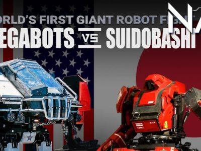 pelea de robots gigantes