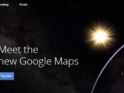 Planetas en Google Maps