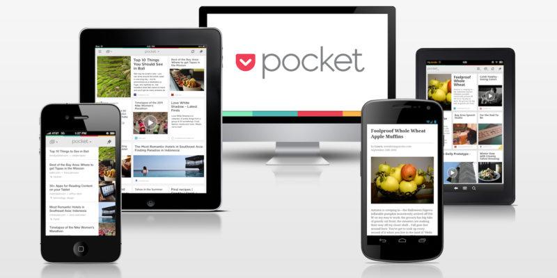 Pocket para guardar artículos y leer más tarde