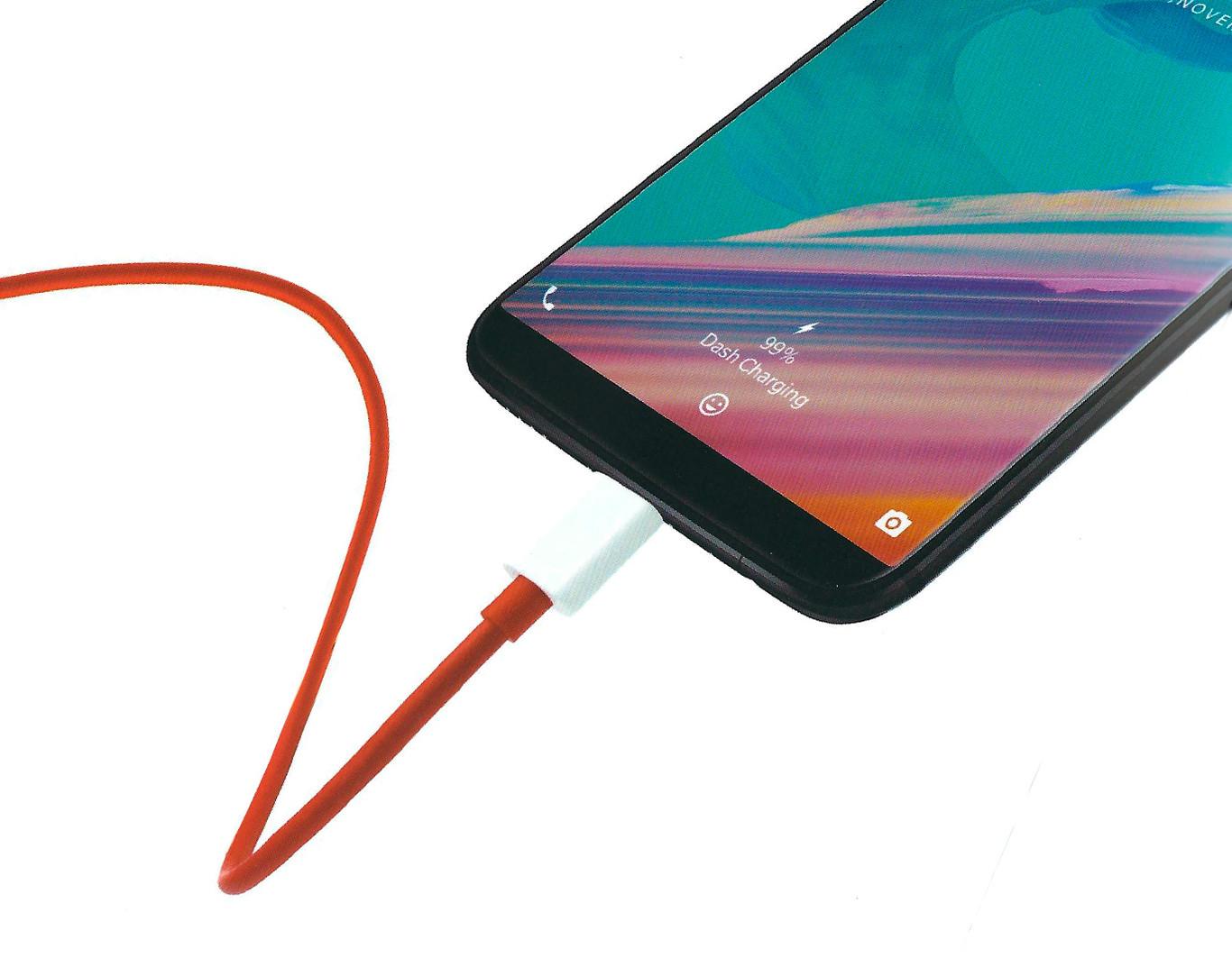 OnePlus 5T carga