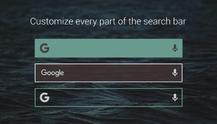 barra búsqueda en Android