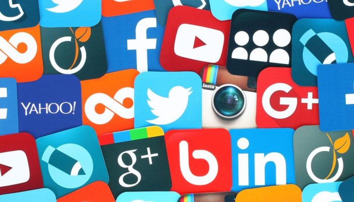 redes sociales en Android