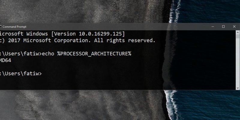 ¿Qué arquitectura tiene tu CPU?
