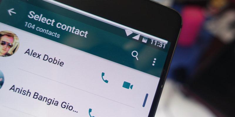 Cambios en las videollamadas de WhatsApp