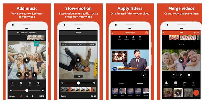Te traemos las mejores apps para que crees tus vídeos en