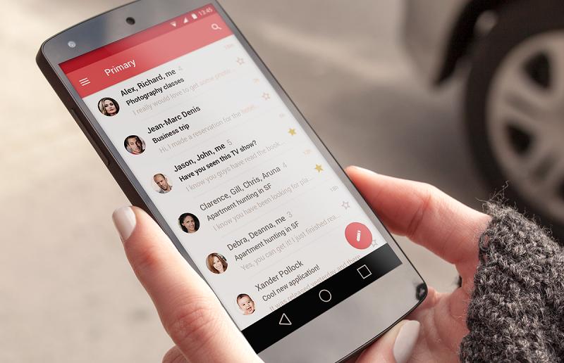 gmail smartphone