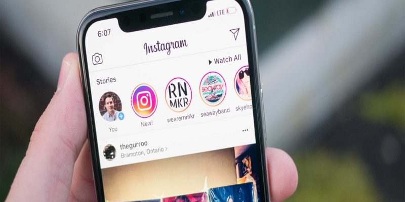instagram storie portada