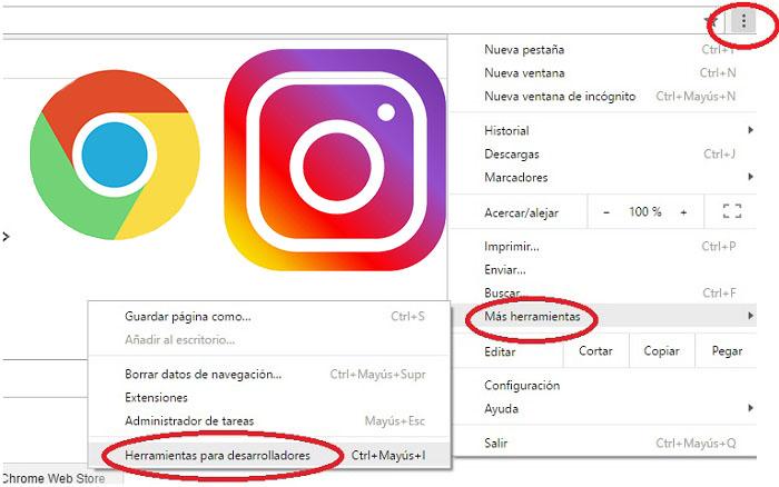 Subir fotos a Instagram desde la PC