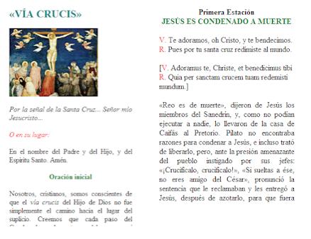 Via Crucis Semana Santa
