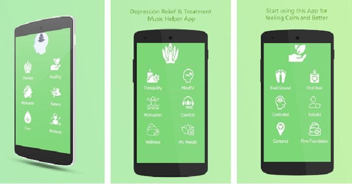 aplicaciones contra la depresión